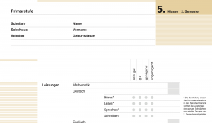 It's Zeugnis time! … how to make sense of a Swiss school report